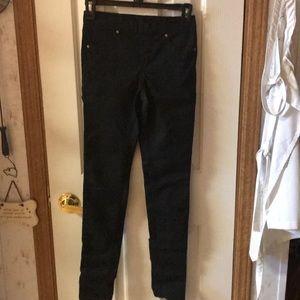 Black jean leggings
